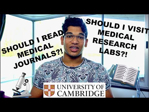 GO GET Medical Research Placements and Read Medical Journals - Medicine 2018