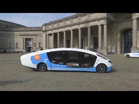 شاهد: مركبّة بمقصورة مجهّزة تعمل بالطاقة الشمسية وتسيرُ 730 كيلومتراً بطاقة مولّدة ذاتياً…  - نشر قبل 7 ساعة