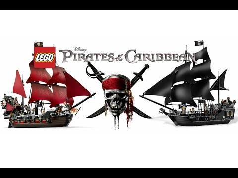 All Lego Pirates Of The Caribbean Sets (4K Quality)