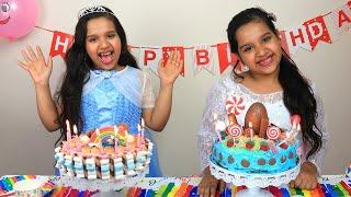 حفلة عيد ميلاد ماما !! Mom's birthday surprises and sweets