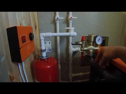 Обвязка твердотопливного котла отопления в Орехово-Зуево