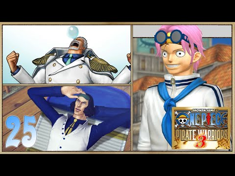 One Piece Pirate Warriors 3 pt25: Cutty Flam Franky