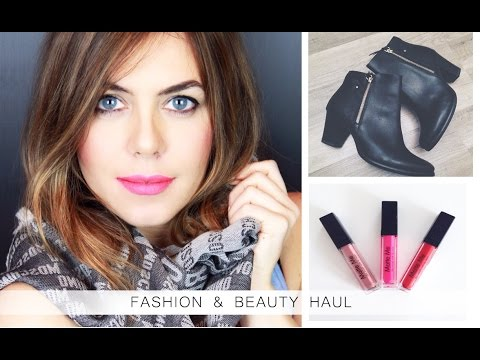 FASHION & BEAUTY Haul 2015  Moschino H&M Marc Jacobs Tamaris | no Primark