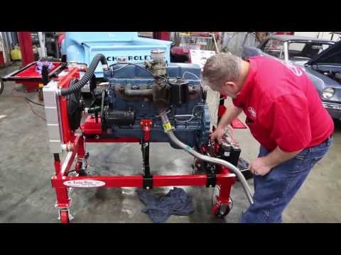 Easy Run engine test stand by Drager's International Classics Sales 206-533-9600