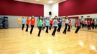 Don't Cry Anymore - Line Dance (Dance & Teach in English & 中文)