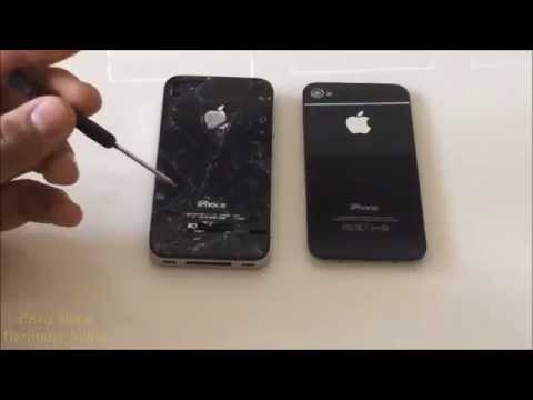 How To Replace Iphone 4s Ed Back Gl