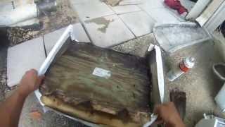 Back 2 Back Boat Seat Repair - Part 1 Of 3