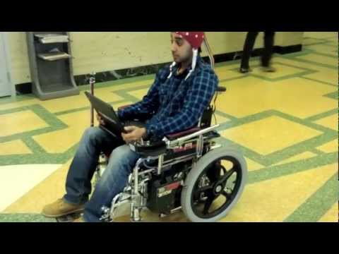 EEG-controlled wheelchair - McMaster University