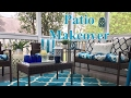 Outdoor living space makeover