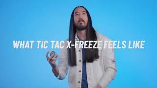 Tic Tac X-Freeze x Steve Aoki - Intensely Refreshing