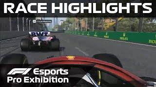 F1 Esports Pro Exhibition Race: Azerbaijan Highlights | Aramco