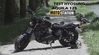 Test Hyosung Aquila 125 : Surprenant Bobber !