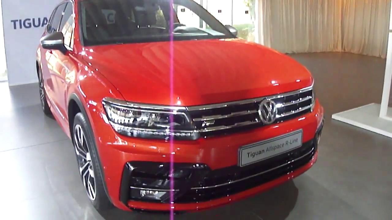 Volkswagen New Tiguan Allspace R Line 2018 Energetic Orange Metallic