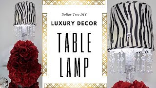 Luxury Décor | Table Lamp Tutorial