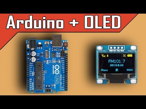 Arduino and I2C OLED   Full Tutorial - clgproject
