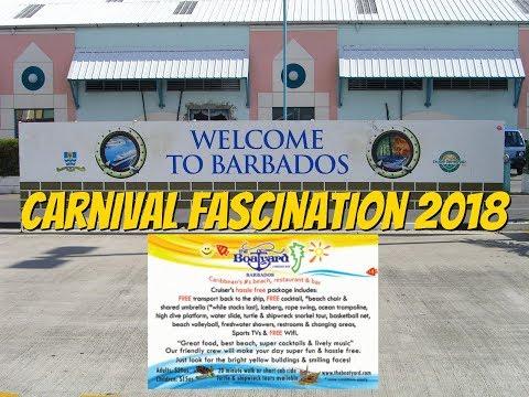 Carnival Fascination 2018 - Barbados- Boatyard