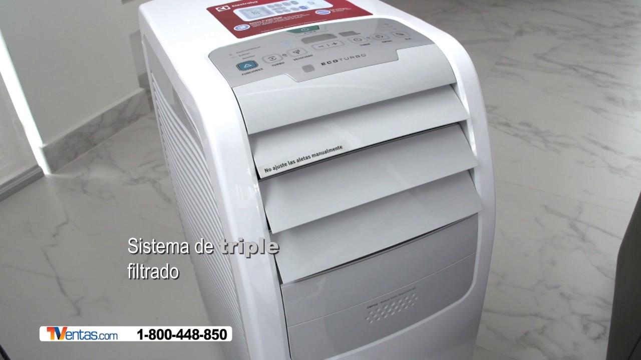 Aire acondicionado electrolux youtube - Aire acondicionado portatil ...