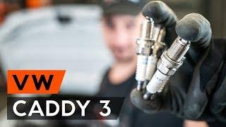 Hur byter man Tändstift VW CADDY III Estate (2KB, 2KJ, 2CB, 2CJ) - online gratis video