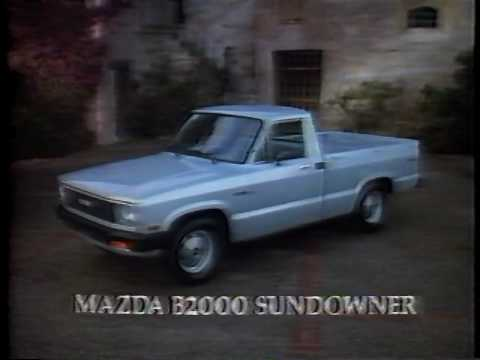 1983 mazda b2000 truck