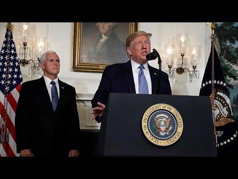 Trump, İsrail-Filistin sorununu çözmek için hazırladığı 'Yüzyılın Anlaşmasını' açıkladı…