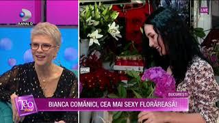 Teo Show (12.10.2020) - Bianca Comanici, cea mai sexy florareasa!