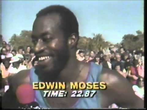 1981 Superstars Final - Obstacle Course - Edwin Moses - Part 2/2