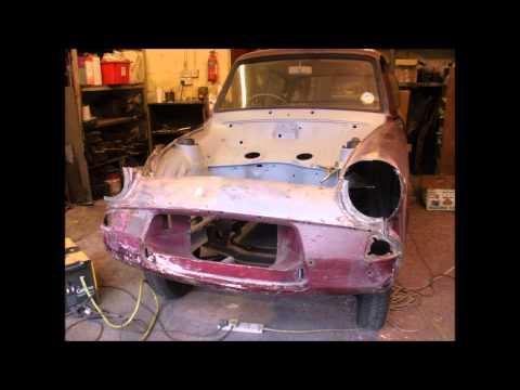 Bens Ford  Anglia 105e restoration