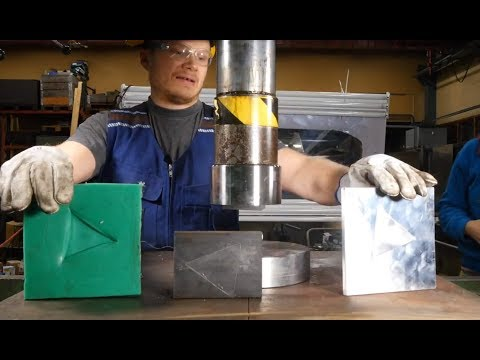 Hydraulic press channel 2M Subsribers LIVE!