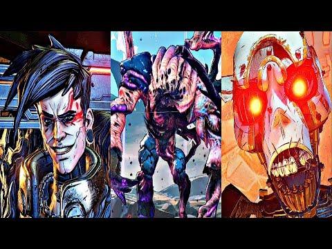 BORDERLANDS 3 - All Bosses / Boss Fights + Ending