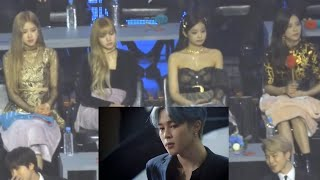 190105 Blackpink reaction to BTS Hyundai Commercial @ GDA