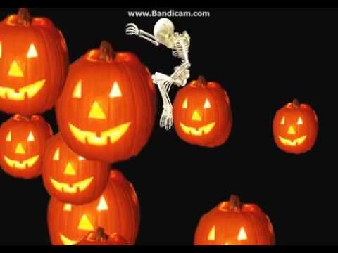 падающий скелет