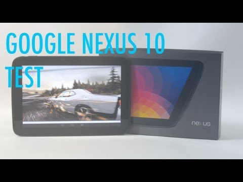 Google Nexus 10 Test - Deutsch