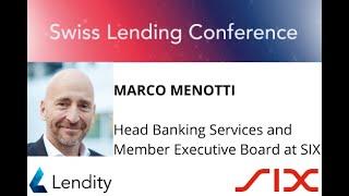 2020 Swiss Lending Conference | Opening Remarks | Rafael Karamanian (Lendity) & Marco Menotti (SIX)
