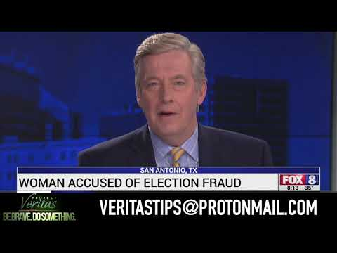 Veritas Voter Fraud Arrest Takes Over Texas Media!