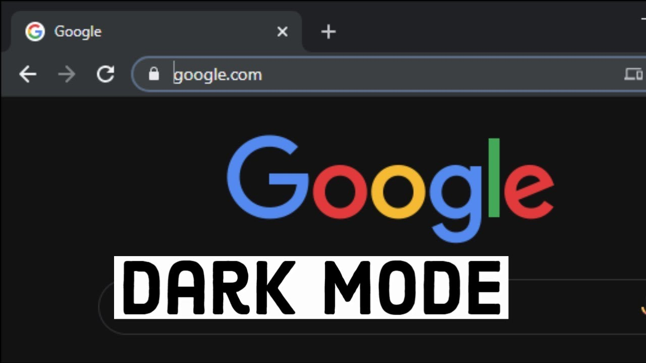 Youtube Dark Mode Chrome