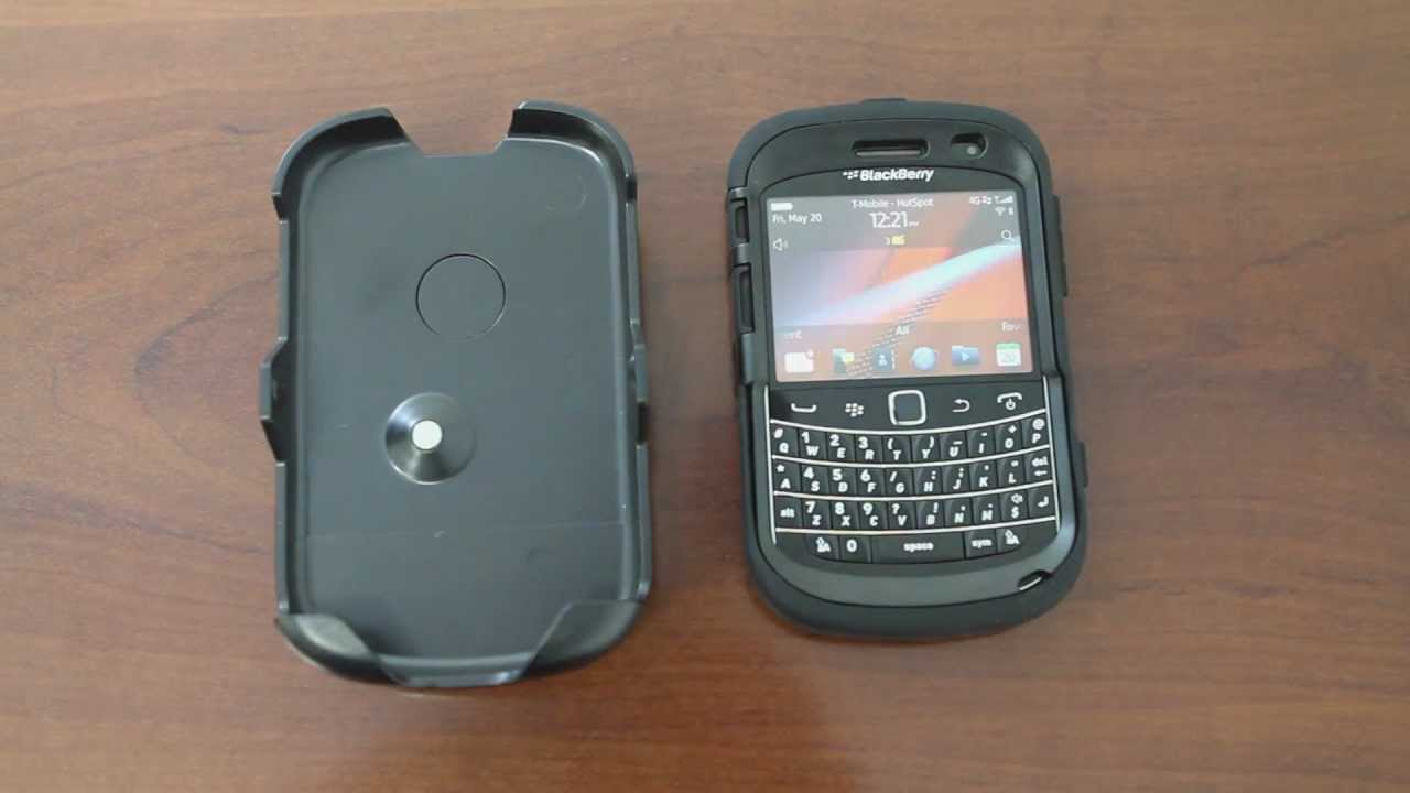 online retailer f8fde d9c15 OtterBox Defender Case & Holster for BlackBerry Bold 9900 Series