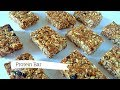 Healthy Easiest Home Made Protein Bar, No Baked Sugar Free Granola bar, Homemade Granola bar