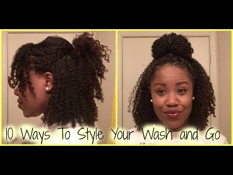 9 Wash And Go Hairstyles Perfect For Afro Textured Strands