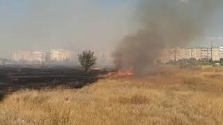 У Волгодонську спалахнув квартал ВЦ 2