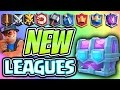 9 NEW LEAGUES :: Clash Royale NEW END-GAME STRUCTURE & CHEST OPENING