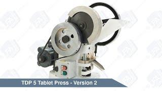TDP 5 Desktop Tablet Press Version 2 | LFA Tablet Presses