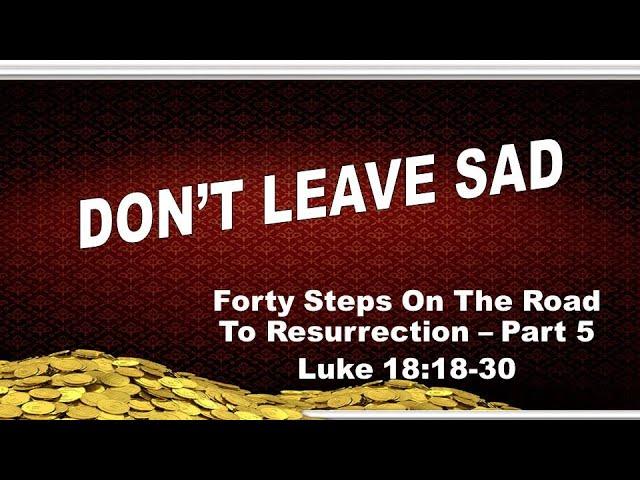 Don't Leave Sad (3/21/2021)