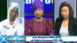 Selebe Yoon du 23 jan. 2019 avec Mariama SARR (APR)  et Fatima Gassama (FSD / BJ)
