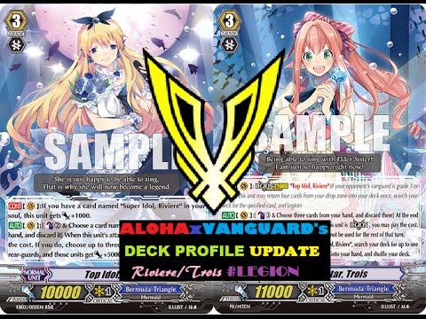 Cardfight Vanguard: Bermuda Triangle Deck Update (Rising Star, Trois ...