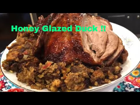 Thanksgiving Christmas Easter Duck: Honey Butter Glazed