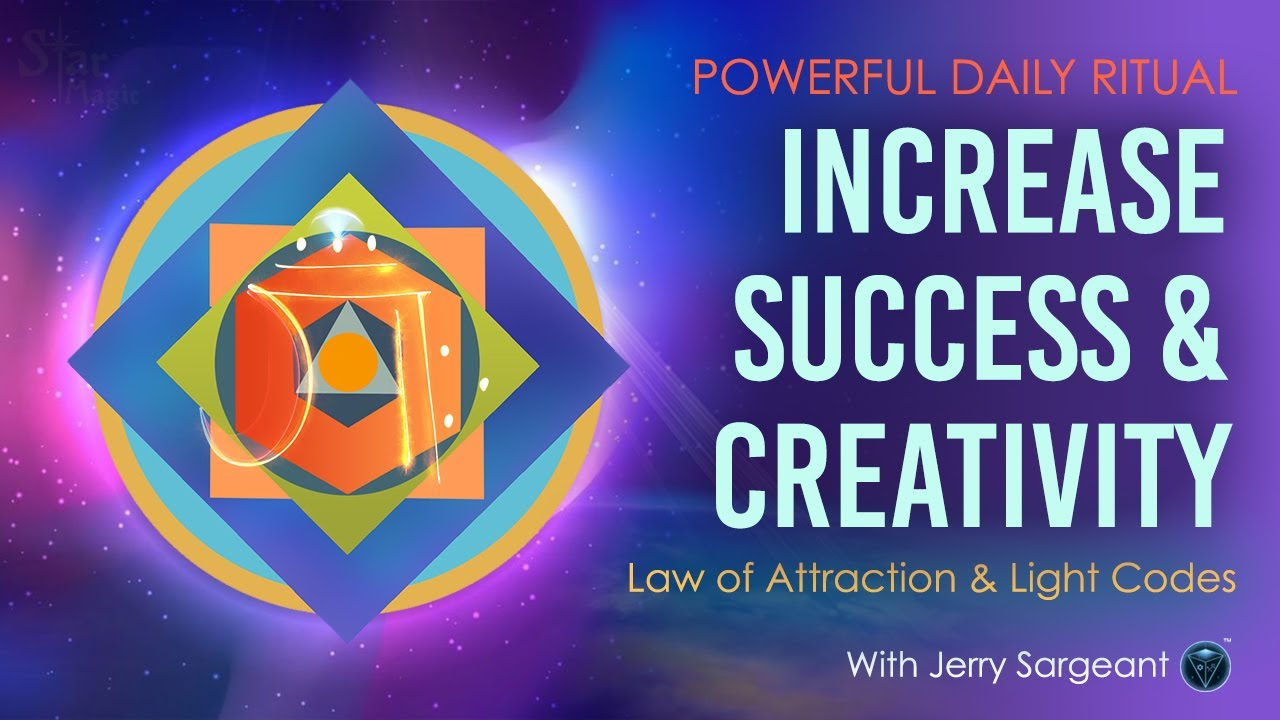 Increase Success & Creativity (POWERFUL DAILY RITUAL) Law of Attraction & Light Codes