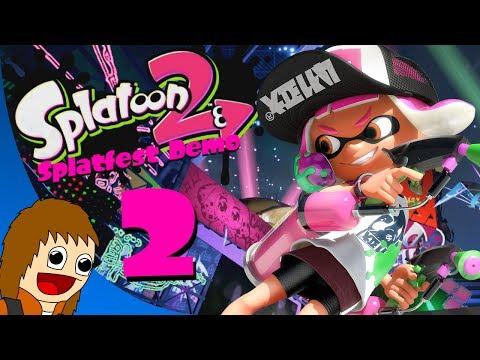 Splatoon 2 Splatfest Demo: Team Roller - Part 2