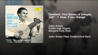 Dowland: First Booke of Songes, 1597 - 7. Dear, if you change