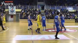 Νίκη Βόλου - Μεταμόρφωση 68-64 (Γ' Εθνική Μπάσκετ Ανδρών)