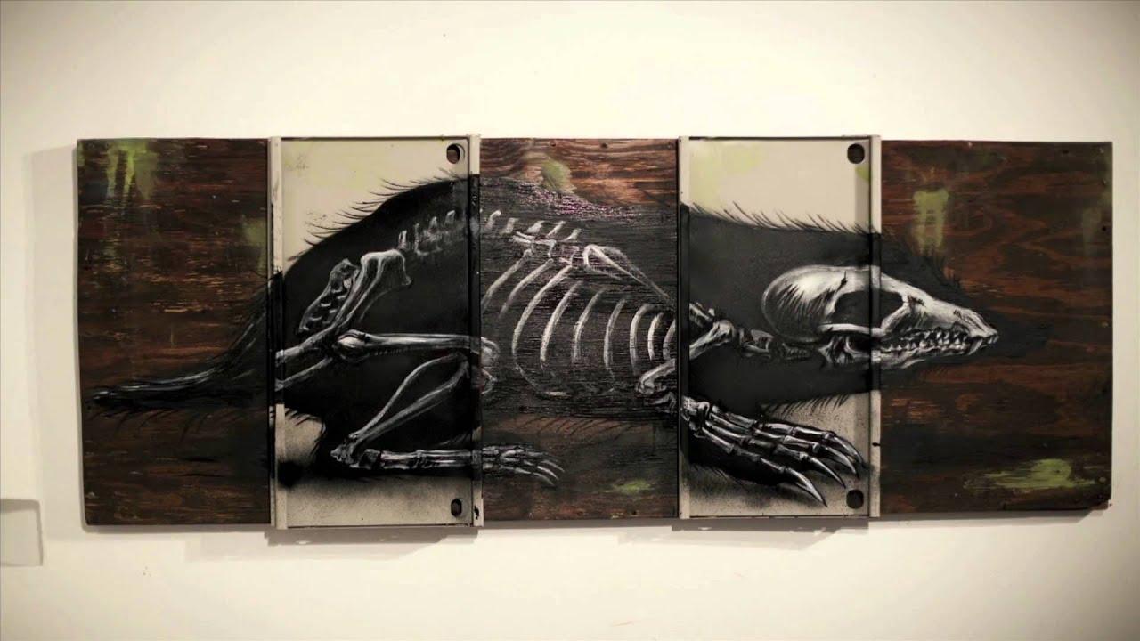 ROA street artist profile film by filmmaker Colin M Day - Warholian